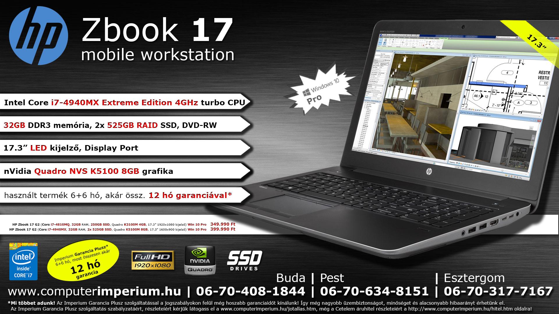 HP Zbook 17 G2 (i7-4810MQ c491cc9fcc